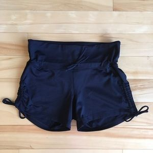 Sweaty Betty XS Black Lycra Yoga Shorts